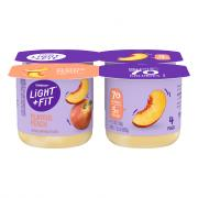 Dannon Light & Fit Traditional Peach Yogurt
