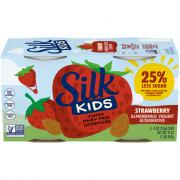 Silk Kids Strawberry Almondmilk Yogurt Alternative