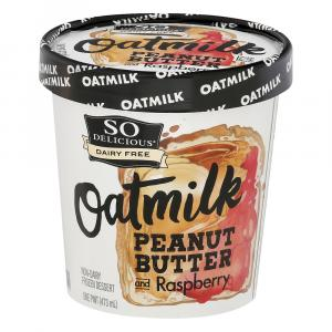 So Delicious Oatmilk Peanut Butter and Raspberry