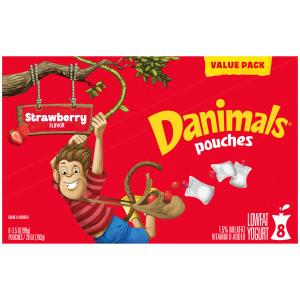 Danimals Pouches Strawberry