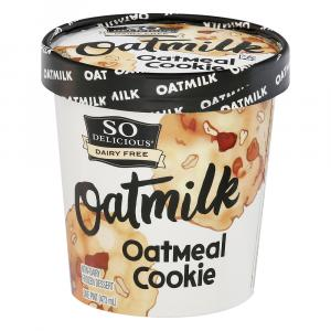 So Delicious Oatmilk Oatmeal Cookie Non-Dairy Frozen Dessert