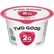 Two Good Raspberry Greek Yogurt