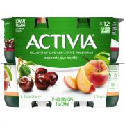 Dannon Activia Peach & Black Cherry Yogurt