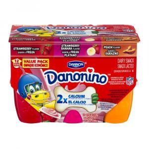 Dan-o-nino Strawberry Vanilla Banana Yogurt