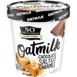 So Delicious Oatmilk Chocolate Salted Caramel