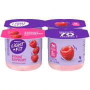 Dannon Light & Fit Traditional Raspberry Yogurt