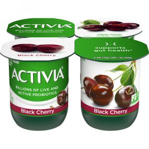 Activia Black Cherry Yogurt