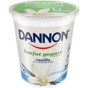 Dannon All Natural Vanilla Low Fat Yogurt