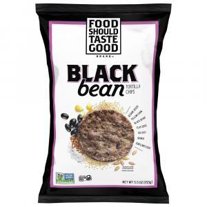 Food Should Taste Good Black Bean Multigrain Bean Chips