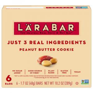 Larabar Peanut Butter Cookie Bars