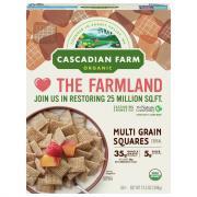 Cascadian Farm Multigrain Square Cereal