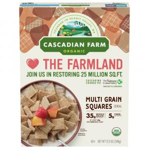 Cascadian Farm Multigrain Square Cereal