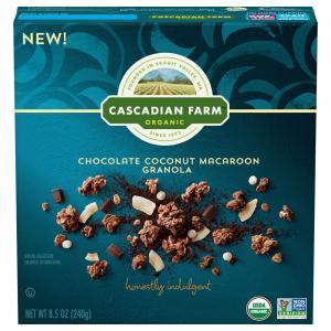 Cascadian Farm Organic Chocolate Coconut Macaroon Granola