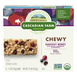 Cascadian Farm Organic Harvest Berry Granola Bars