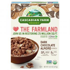 Cascadian Farm Organic Dark Chocolate Almond Granola Cereal