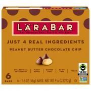 Larabar Peanut Butter Chocolate Chip Bars
