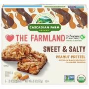 Cascadian Farm Peanut Pretzel Granola Bars