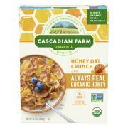 Cascadian Farm Organic Honey Oat Crunch Cereal