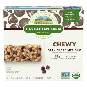 Cascadian Farm Organic Chocolate Chip Granola Bars