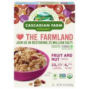 Cascadian Farm Organic Fruit & Nut Granola Cereal