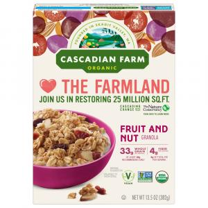 Cascadian Farm Organic Fruit & Nut Granola Cereal