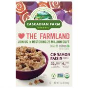 Cascadian Farm Organic Cinnamon Raisin Granola Cereal