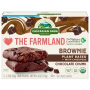 Cascadian Farm Organic Chocolate Chunk Brownie with Chickpea