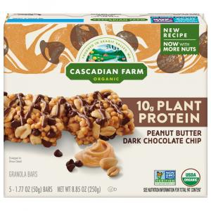 Cascadian Farm Organic Peanut Butter Chocolate Chip Bars