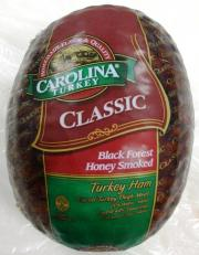 Carolina Black Forest Turkey Ham