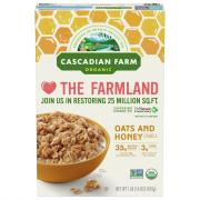 Cascadian Farm Oats N Honey Granola Cereal