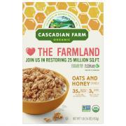 Cascadian Farm Oats N Honey Granola Cereal