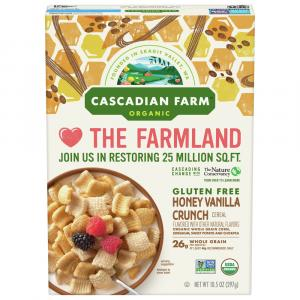 Cascadian Farm Gluten Free Organic Honey Vanilla Crunch
