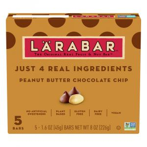 Larabar Peanut Butter Chocolate Chip Bars