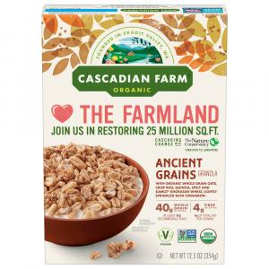 Cascadian Farm Ancient Grains Granola Cereal