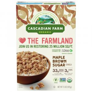 Cascadian Farm Maple Brown Sugar Cereal
