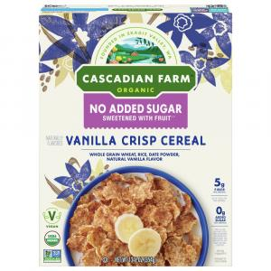 Cascadian Farm Organic Vanilla Crisp Cereal