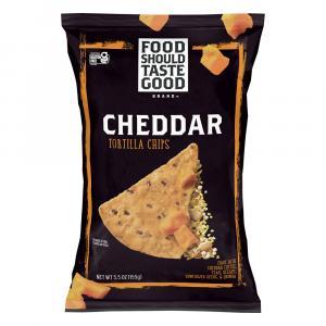 Food Should Taste Good Cheddar Tortilla Chips