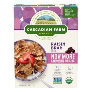 Cascadian Farm Raisin Bran Cereal