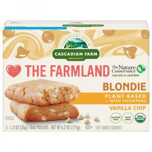 Cascadian Farm Organic Vanilla Chip Blondie Squares