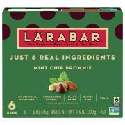 Larabar Mint Chip Brownie Bars