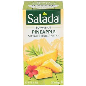 Salada Escapes Thai Ginger Mango Herbal Fruit Tea