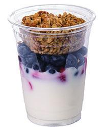 Strawberry Blueberry Granola Parfait