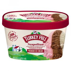 Turkey Hill Neopolitan Ice Cream