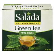 Salada Decaf Green Tea Bags