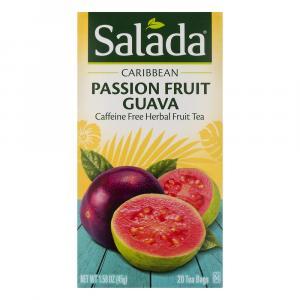 Salada Escapes Caribbean Passion Fruit Guava Herbal Tea