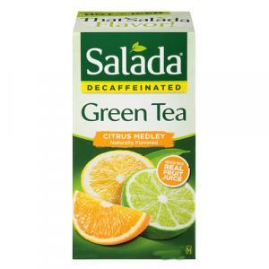 Salada Decaffeinated Citrus Medley Green Tea