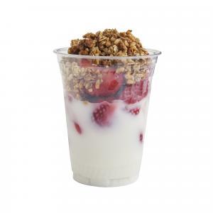 Strawberry Granola Yogurt Parfait