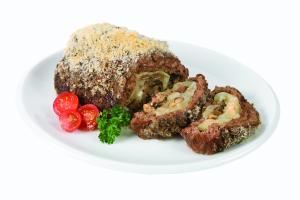 Crusted Mushroom Swiss Beef Roast