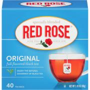 Red Rose Tea Bags