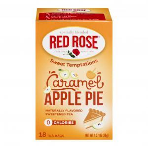 Red Rose Sweet Temptations Caramel Apple Pie Tea